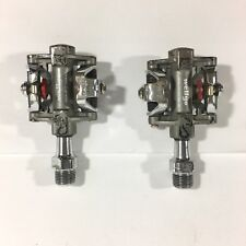 Wellgo MTB Pedals WAM-M717 Clipless Sport Dual Sided Bike Parts Accessory