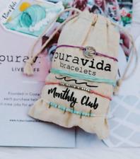 Pura Vida January 2020 Monthly Club - aqua original bracelet ONLY