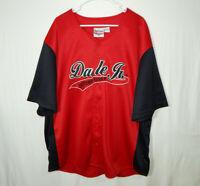 Dale Earnhardt Jr #8 Budweiser NASCAR Racing Chase Authentics Baseball Jersey XL