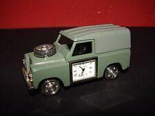 Die Cast Land Rover with Quartz Clock WM Widdop