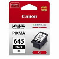 2x Genuine Canon PG-645XL PG645XL Black ink cartridges for MG2965 MG2960 MX496
