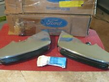 NOS 1973 Ford LTD,Galaxie,Custom, rear Bumper Guard set