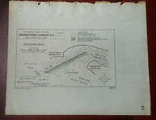 1892 Map Diagram of Negrohead Point, Georgetown Harbor, SC, Winyaw Bay