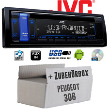 PEUGEOT 306 - JVC Autoradio CD MP3 USB radio de voiture Android