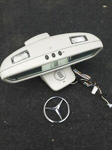 Mercedes SL R230 Rearview Mirror and Cover A2208103217 A230811007