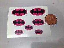 Die Cut Batman Decals. For Revell And Aurora Mego Other Figures