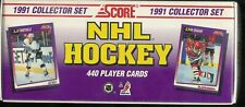 1991-92 SCORE HOCKEY COMPLETE FACTORY SEALED SET 1-440