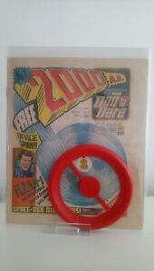 2000AD PROG # 1  -FN  KEY 1ST ISSUE WITH FREE GIFT SPACE SPINNER NM   1977