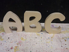 "Wooden freestanding Handcut letters/ numbers sizes4"",6"",8"",10"" Hobo font 18mm"