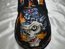 Harley Toms Asphalt Warrior 3 Doo Rag Chef Hat Do Rag Skullcap Bandana Du Rag