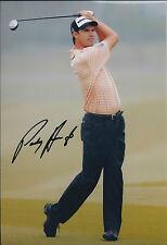 PADRAIG HARRINGTON SIGNED Autograph 12x8 Photo AFTAL COA Dunhill LInks Golf WIN