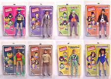 "DC Comics Retro 8"" Classic RARE TV Show Batman COMPLETE Lot Set Figures Figurine"