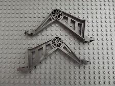 2 Lego Gris Oscuro Pata De Apoyo Grande (insectoides) Mindstorms RCX No. 30212 Repuestos
