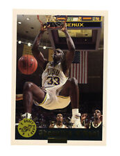 1992 Classic Shaquille O'Neal LSU Tigers  #1 Basketball Card