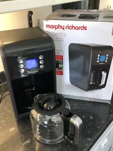 Morphy Richards Accents Pour Over Filter Coffee Machine - 900W, Black