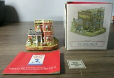 """Liberty Falls Americana Collection Ah96 """"Ice Cream Parlor"""" Building New!"""