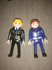 Playmobil 2 X Female Police Officer Figures