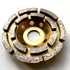 """115mm, 4.5"""" diamond grinding disc, wheel, cup, double rows PROFESSIONAL."""
