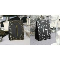 Table Numbers Wedding 1-40 Standing Freestanding Reception Decorations Signs