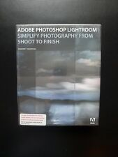 Adobe Photoshop Lightroom 1 in scatola CD di Windows/PC/MAC FULL UK vendita al dettaglio 19250011 NUOVO