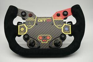 Simagic huracan gt3 DIY  Racing Gaming Carbon Fiber Sim Wheel MOD   F1