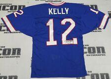 Jim Kelly + Signed Official Bills Football Game Jersey BAS Beckett COA Autograph