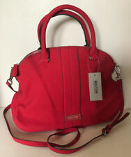 NEW! KENNETH COLE REACTION ANNABELLE RED CONVERTIBLE CROSSBODY SATCHEL BAG $89