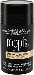 Toppik Hair Building Fibers- Medium Blonde 12g BNIB