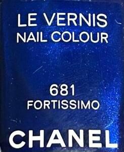 CHANEL NAIL POLISH 681 FORTISSIMO LIMITED EDITION BNIB