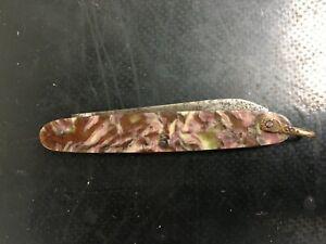 Vintage French Folding Pocket Knife Single Blade