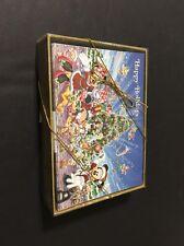 Disney Parks MICKEY & MINNIE SANTA CINDERELLA CASTLE Christmas Holiday Cards