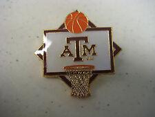 Texas A & M University Pin - Basketball