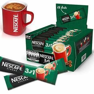 NESCAFE 3in1 STRONG 60 SACHETS 17 g/sachet WHOLESALE EU MADE LONG DATE FRESH