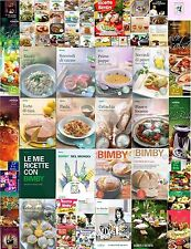 Ricettari bimby libri e riviste TM5 TM31 TM21 maga raccolta + NATALE E CENONE
