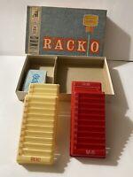 Vintage 1961 RACKO Card Game By MB Milton Bradley RACK-O Complete 4615