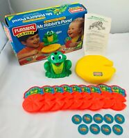 1997 Mr. Ribbit's Pond Game by Playskool Complete in Great Condition FREE SHIP