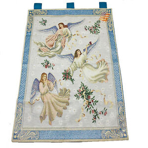 Angels on High Heavenly Angels Descending Tapestry Wall Hanging