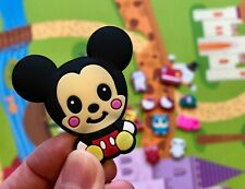 Mickey Mouse Badge Silicone Car Fridge Magnet Magnetic Kids Whiteboard