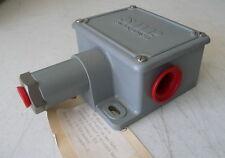 New Static O Ring SOR Pressure Switch # 5NN-K3-N4-F1A, 25 TO 240psi Range