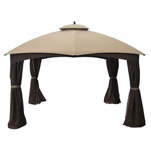 Garden Winds Canopy for Allen Roth 10x12 Gazebo - Standard 350 - Beige