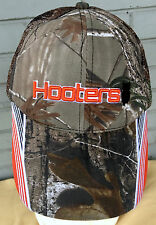 Hooters Owl Chicken Wings Camo Restaurant Mesh Adjustable Baseball Cap Hat