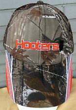 Hooters Owl Chicken Wings Camo Restaurant Mesh Adjustable Baseball Cap Hat