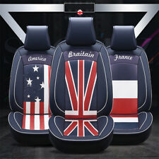 UK Union Jack Surround Luxury Car Comfortable Full Set Seat Cover Ford Mondeo