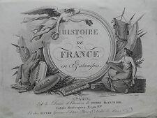 ALLENT  L'Histoire de France en Estampes. vers 1830