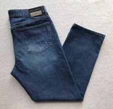 Dolce & Gabbana Basic Mens Regular Fit Straight Leg Jeans Dark Blue W36 L31