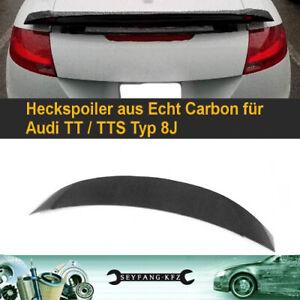 Heckspoiler Spoiler aus Carbon für alle Audi TT TTS 8J