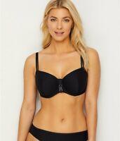 Prima Donna BLACK Canyon Balconette Bikini Swim Top, US 34E