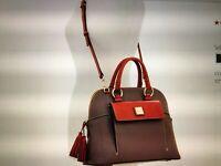 Handbag purse Dooney and Bourke Aubrey Satchel Women fashion assessory  New