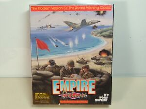 Empire Deluxe Vintage PC Game War Combat Windows Used Two Floppy Disks Big Box