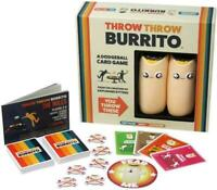 2019 Card Game Throw Burrito Card Game Kickstarter Game Pressure Game Bard Game